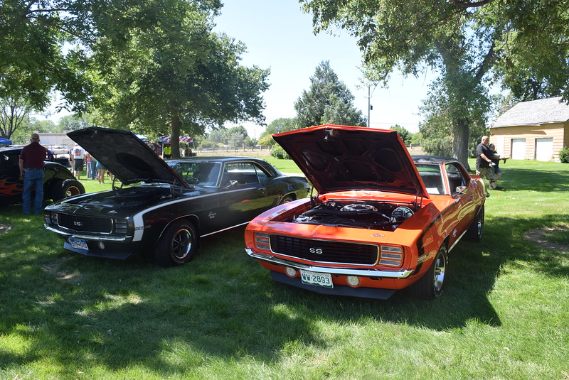 A variety of cars were on display at Colorado Flatlanders 25th Annual Rod Run in the Park Saturday, July 9, 2016, at Pioneer Park.