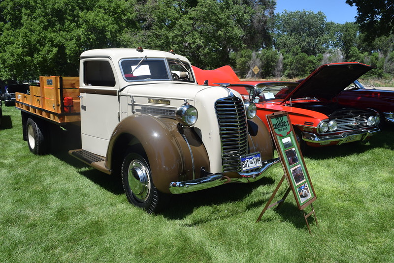 A 1937 Diamond T was among the vehicles on display at Colorado Flatlanders 25th Annual Rod Run in the Park Saturday, July 9, 2016, at Pioneer Park.