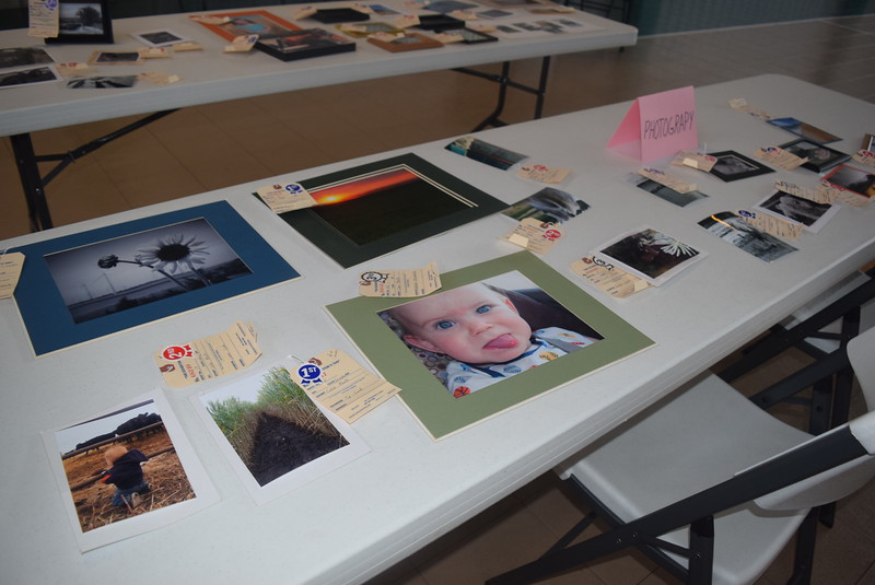 Photographs were among the exhibits at the Crook Fair Saturday, July 29, 2016.