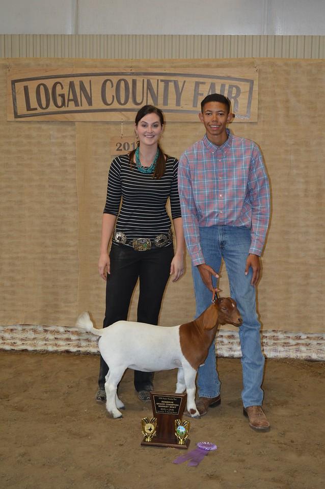 Jayson Frank, Reserve Grand Champion Market Goat