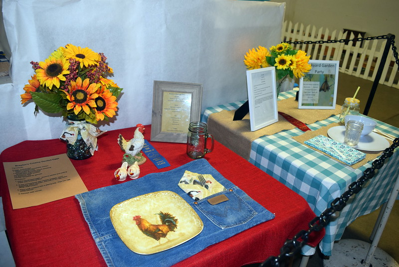 Award winning projects in the creative cooks category were on display underneath the grandstands Wednesday, Aug. 3, 2016, at the Logan County Fair.