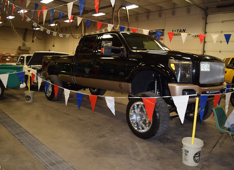 Pickup trucks of all sizes were on display at the NJC Auto Show Saturday, April 2, 2016.