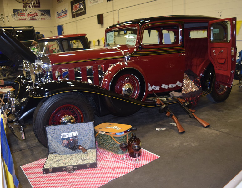 Vehicles decorated in a variety of themes were on display at the NJC Auto Show Saturday, April 2, 2016.