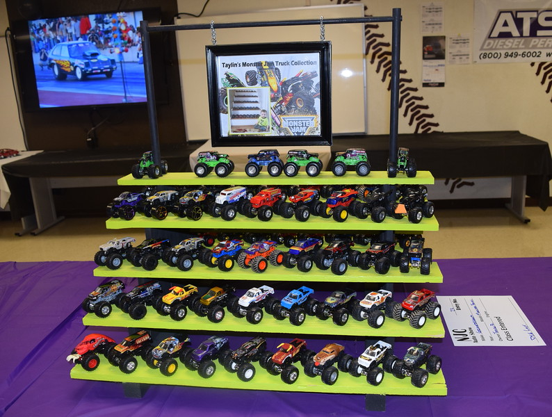 Monster Jam Trucks were among the entries in the die cast division of the NJC Auto Show Saturday, April 2, 2016.