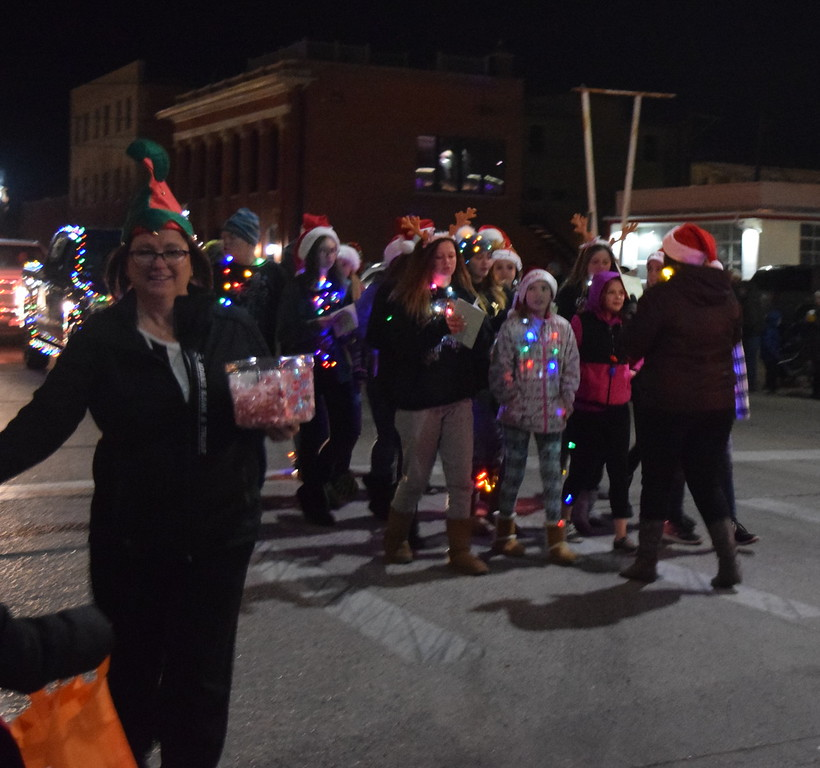 The Logan County Chamber of Commerce Parade of Lights makes its way through downtown Sterling Thursday, Nov. 30, 2017. The theme this year was Norman Rockwell Christmas.