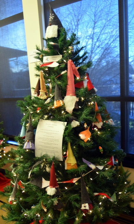 . Kathryn Locke\'s tree at Sterling Public Library\'s 2017 Parade of Trees.