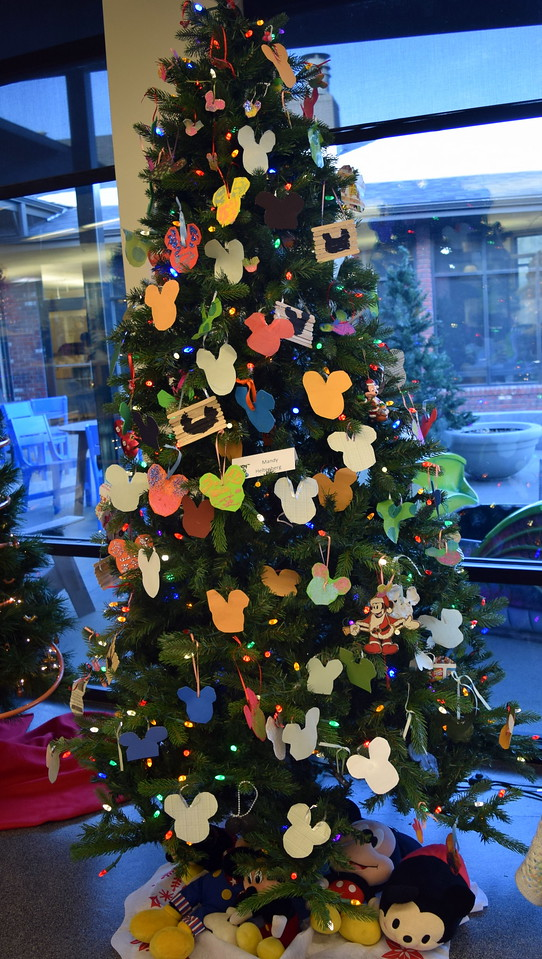 Mandy Heltenberg's tree at Sterling Public Library's 2017 Parade of Trees.