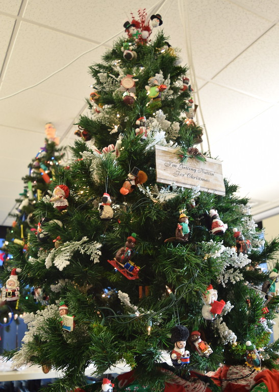 . Shirlene Cramer\'s tree at Sterling Public Library\'s 2017 Parade of Trees.