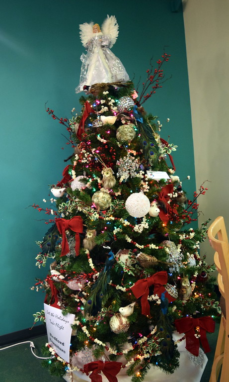 . Bedford Furniture\'s tree at Sterling Public Library\'s 2017 Parade of Trees.