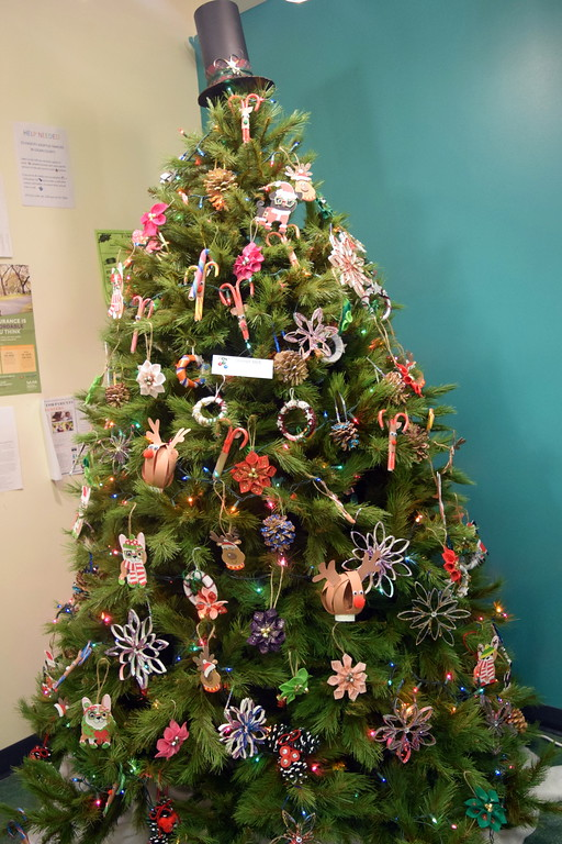 . Steiner SILS\' tree at Sterling Public Library\'s 2017 Parade of Trees.