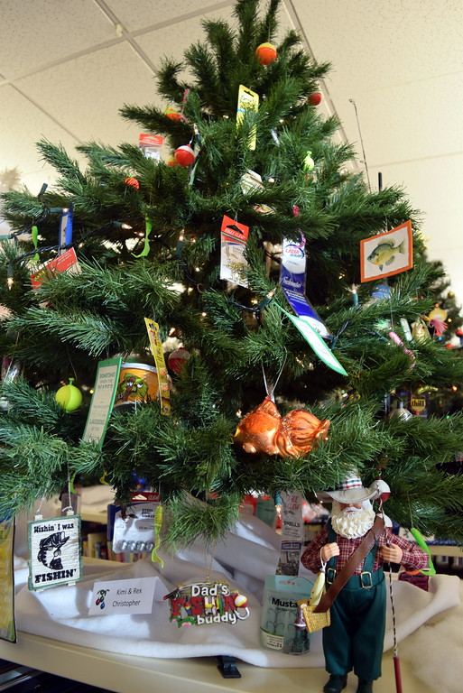 . Kim and Rex Christopher\'s tree at Sterling Public Library\'s 2017 Parade of Trees.