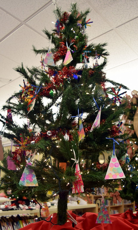 . Iliff Head Start\'s tree at Sterling Public Library\'s 2017 Parade of Trees.