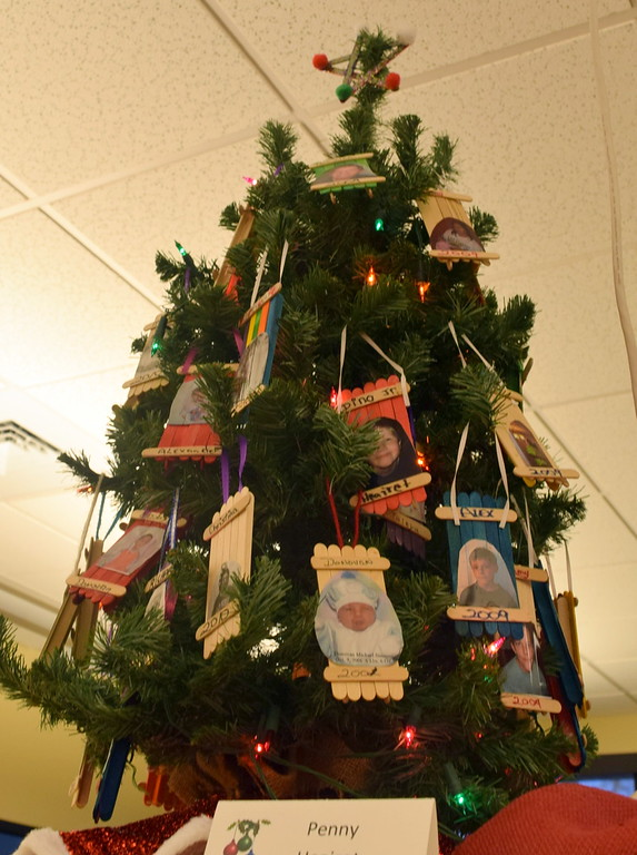 . Penny Heairot\'s tree at Sterling Public Library\'s 2017 Parade of Trees.