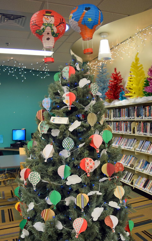 . Jamie Miller\'s tree at Sterling Public Library\'s 2017 Parade of Trees.
