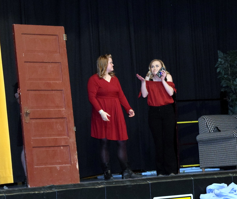""". Caliche High School students perform \""""The Villain I Appear to Be\"""" at the school\'s Visual and Performing Arts Show Tuesday, Feb. 26, 2019."""