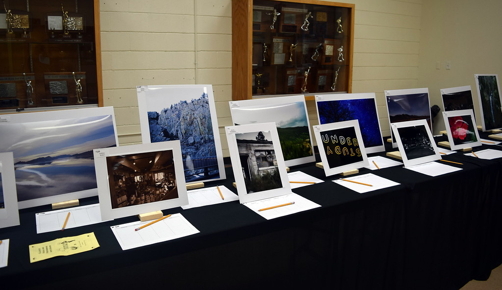 . A variety of photographic artwork was on display at Caliche School\'s Visual and Performing Arts Show Tuesday, Feb. 26, 2018.