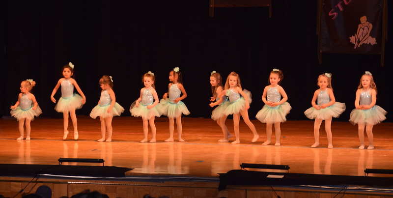 "Josy Scheopner, Pacyn Stromberger, Lexus Martinez, Remi Gerlach, Brynlee Lock, Katherine Wright, Teagan Mason, Adajsha Ogley, Alivia Troutman, Layla Lopez, Remington McClanahan and Tavyn Lock-Totten dance to ""Somewhere Over the Rainbow"" at Durante's Dance Studio's spring recital Saturday, June 10, 2017."