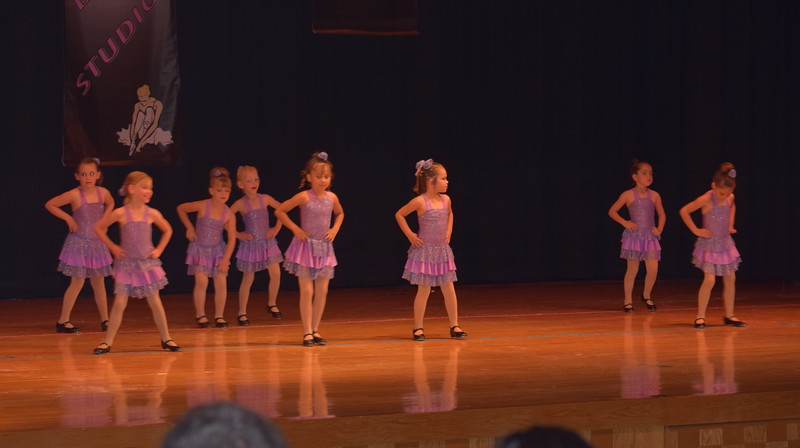 "Grace Davis, Laurel Julius, Seriah Lueth, Zoey Annis, Jocelynn Trickler, Taylor Fouch, Abrielle Seyfang and Joslynn Pennington dance to ""Some Kind of Wonderful"" during Durante Dance Studio's spring recital, ""Wishes From Above,"" Friday, June 3, 2016."