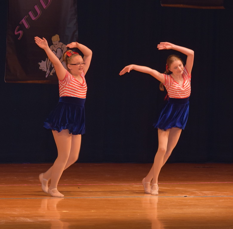 "Dancers perform to ""Born in the USA"" during Durante Dance Studio's spring recital, ""Wishes From Above,"" Friday, June 3, 2016."