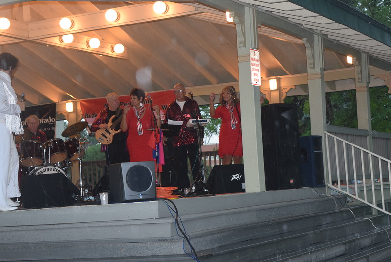 """George Gray and the Elvis Experience jamed to the music of the King during the """"Transwest Concerts on the Green... JulyJamz"""" Friday, July 1, 2016."""