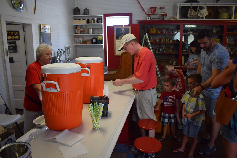 The Overland Trail Museum offered sweet treats such as lemonade and ice cream in the Dailey Cash Store during the 2017 Heritage Festival.