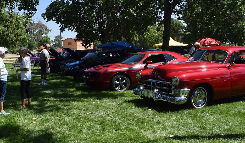 . Colorado Flatlanders Rod Run in the Park Saturday, July 7, 2018, at Pioneer Park.