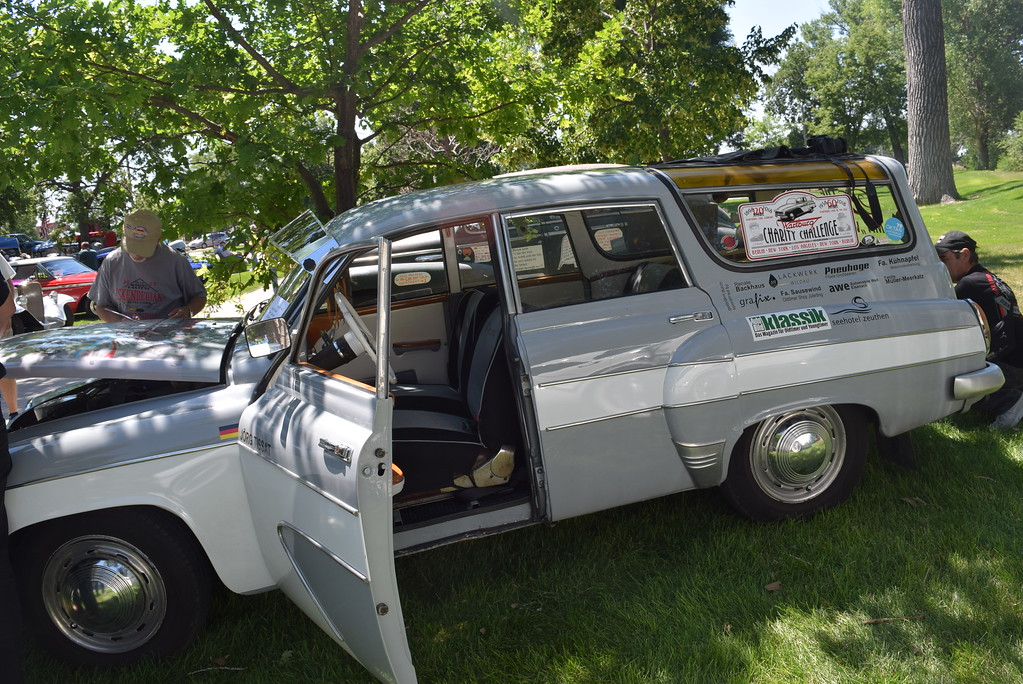 . A 1957 German Wartburg 311 Camping Limousine was on display at Colorado Flatlanders Rod Run in the Park Saturday, July 7, 2018.