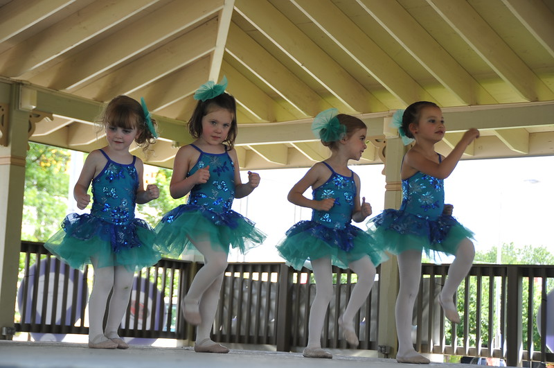 "Durante's Dance Studio students ""Frozen"" routine, 2015 Relay For Life of Logan County, Saturday, June 13, 2015."