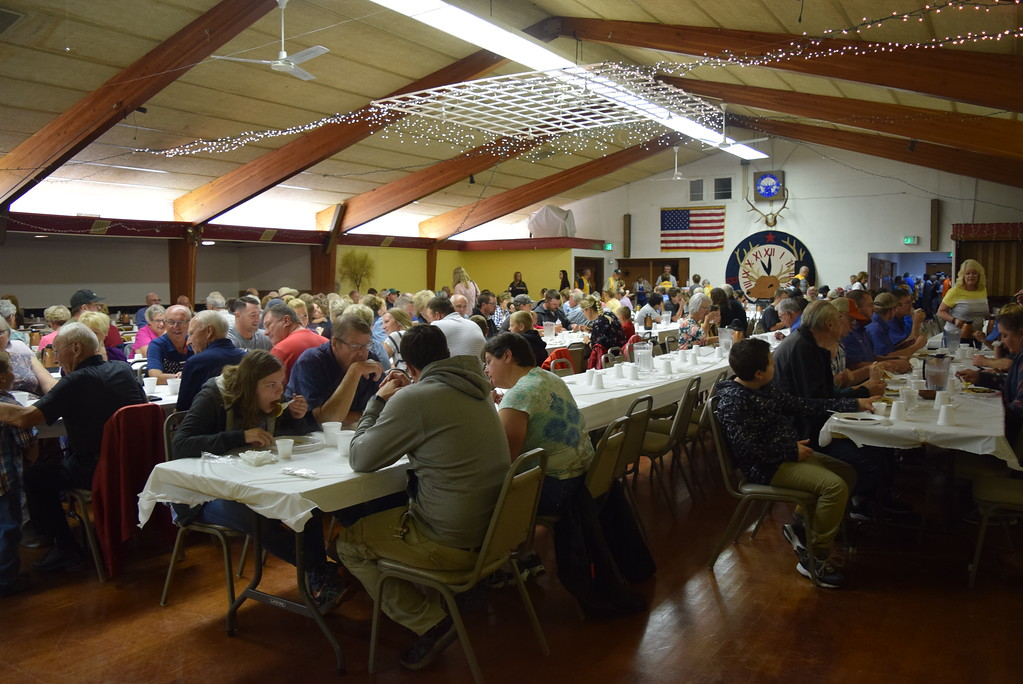 . The Sterling Elks Lodge was once again packed for Sterling Lions Club\'s annual Cowboy Breakfast Wednesday, Aug. 8, 2018.