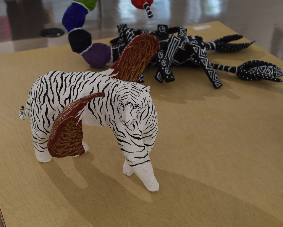 A variety of ceramics pieces were on display at Northeastern Junior College's annual High Plains Secondary School Art Exhibit held in April.
