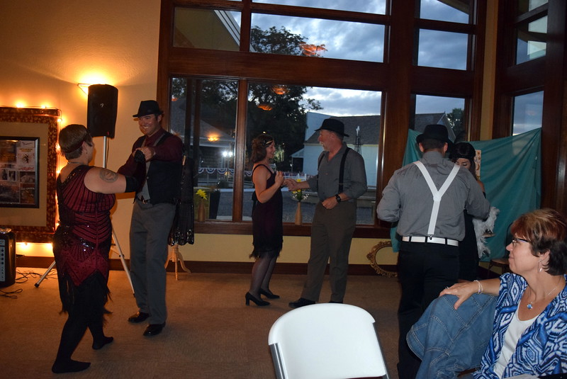 Guests have fun dancing the Charleston at Overland Trail Museum's History After Dark – Date Night at the Museum program on the Roaring 1920s Friday, June 23, 2017.