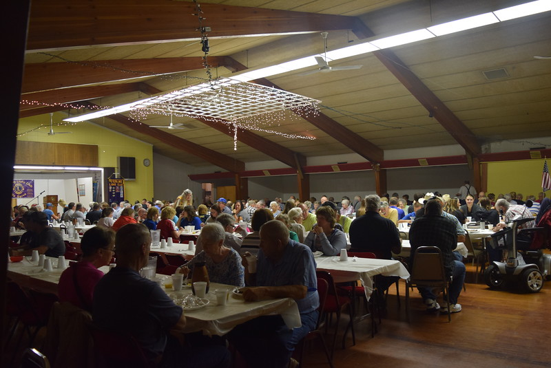A crowd packed the Sterling Elks Lodge for the annual Cowboy Breakfast put on by the Sterling Lions Club Wednesday, Aug. 9, 2017.