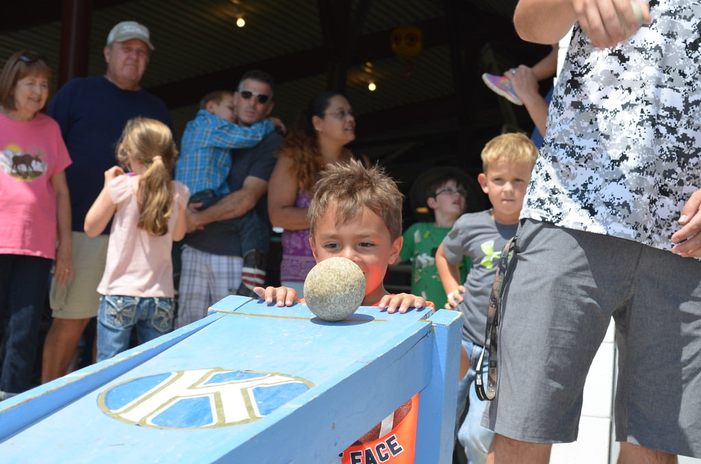 . �On your mark, get set, roll!� The Pet Rock Race gives youth of all ages a chance to compete at 2017 Logan County Fair.