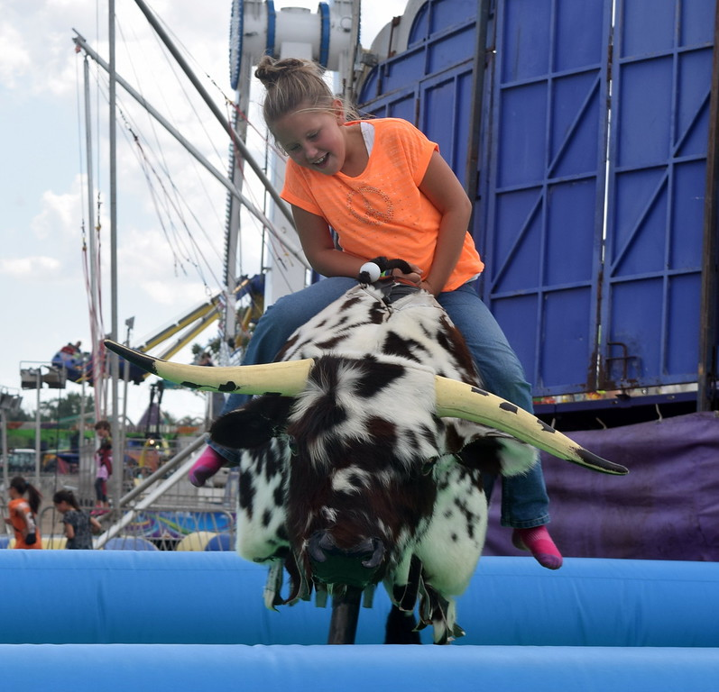 . The Wagner Carnival provided fun for all at the Logan County Fair.