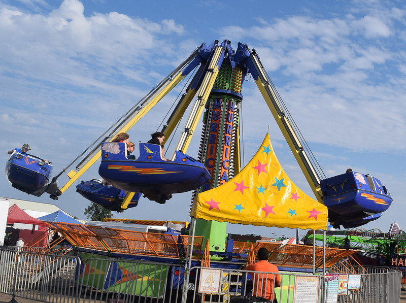 The Wagner Carnival provided fun for all at the Logan County Fair.