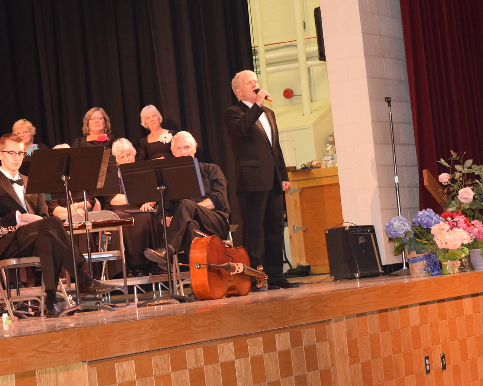 """Jerry Skaggs performs """"You Raise Me Up"""" during Master Chorale's Spring Concert XXV Sunday, May 8, 2016."""