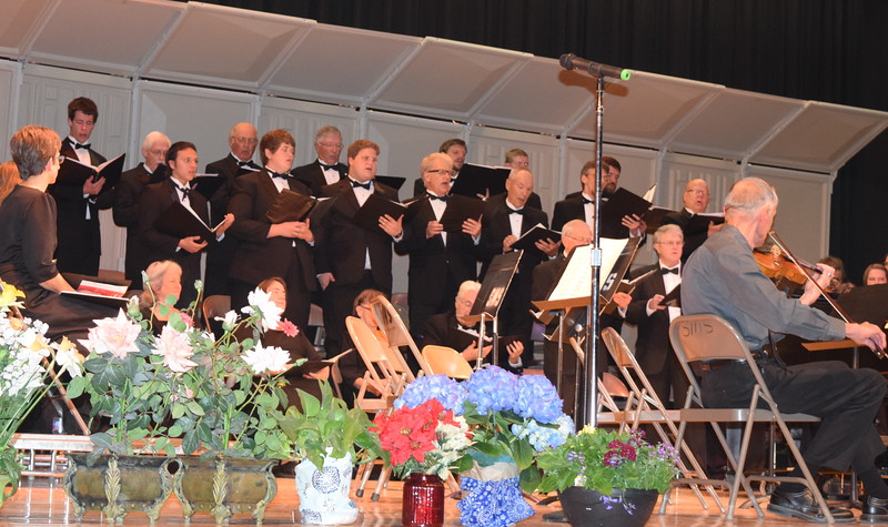 "The Men's Chorus performs ""I Want a Girl"" during Master Chorale's Spring Concert XXV Sunday, May 8, 2016."