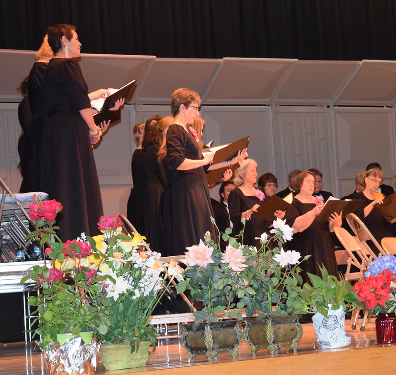"Members of the Women's Chorus perform ""Music In My Mother's House"" during Master Chorale's Spring Concert XXV Sunday, May 8, 2016."