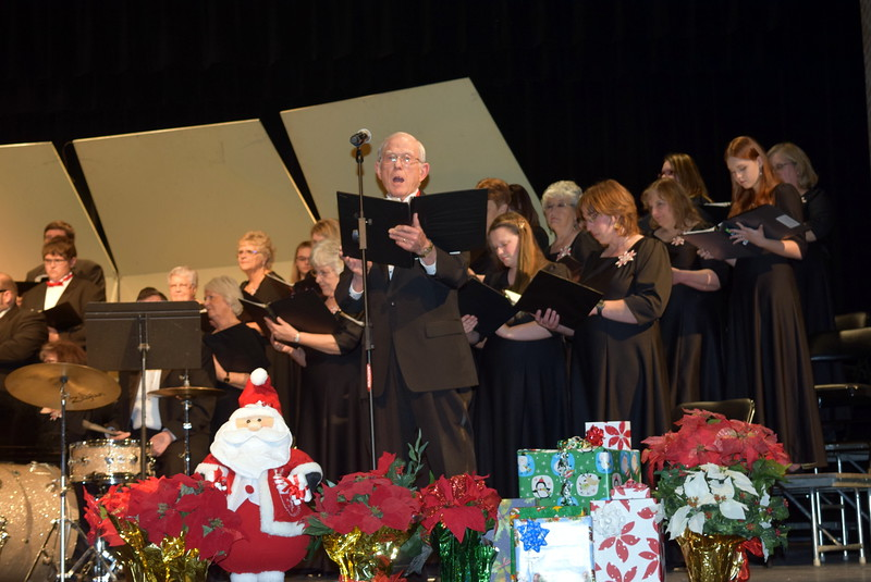 "Jim Leh sings a solo during Master Chorale's performance of ""The Birthday of a King,"" at the group's 25th Noel Christmas Concert, Sunday, Dec. 11, 2016."