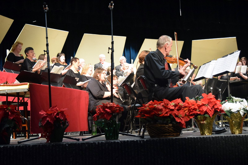 "The Master Chorale performs ""Rise, O People, and Bring Good News"" at their 26th Noel Christmas Concert Sunday, Dec. 10, 2017."