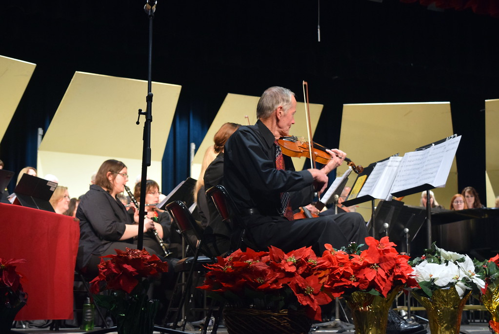 ". The sinfonia performs ""Rise, O People, and Bring Good News,\"" under the direction of Don Johnson, at Master Chorale\'s 26th Noel Christmas Concert Sunday, Dec. 10, 2017."