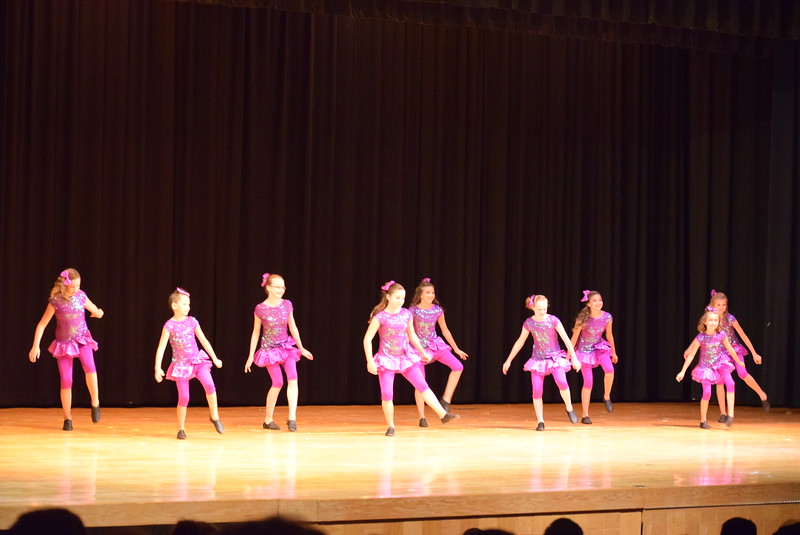 "Kenah Meraz, Soryn Lee, Audrey Reeves, Taylor Tonche, Grace Petersen, Kailynne Swingle, Bella Pacheco, Abby Pacheco and Kaylee Myers dance to ""What Makes You Beautiful"" at Melissa's School of Dance and Gymnastics' ""Remember When"" spring recital Wednesday, June 14, 2017."