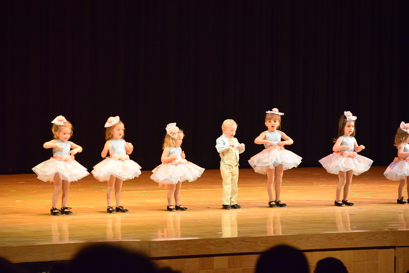 "Dancers perform to ""Do-Re-Mi""  at Melissa's School of Dance and Gymnastics' ""Remember When"" spring recital Wednesday, June 14, 2017."