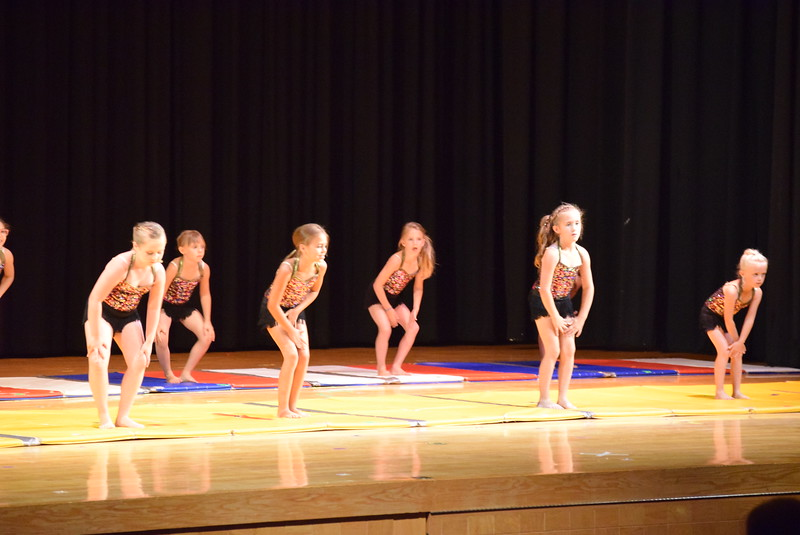 "Chloe Hutcheson, Kenzi Rubottom, Lindsey Richie, Elizabeth Waller, Karsyn Tonche, Bryn Cook, Makayla Stratton, Shaylee Dolan, Charlotte Horton, Tatum Bowen, Alexis Breidenbach and Annabelle Hulbert dance to ""Great Gatsby"" at Melissa's School of Dance and Gymnastics' ""Remember When"" spring recital Wednesday, June 14, 2017."
