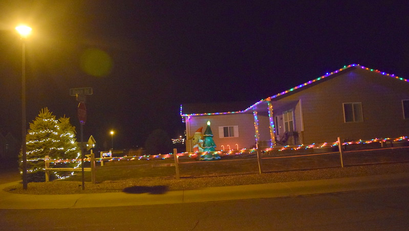 Robin Rd. and Nicole Rd., Sterling. Twinkle Tour 2017