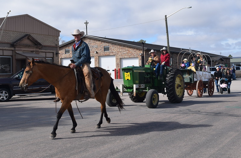 "The Gillham farm also celebrated 100 years during the Peetz Sake Days ""Still on the Hill"" Centennial Parade Saturday, Sept. 30, 2017."