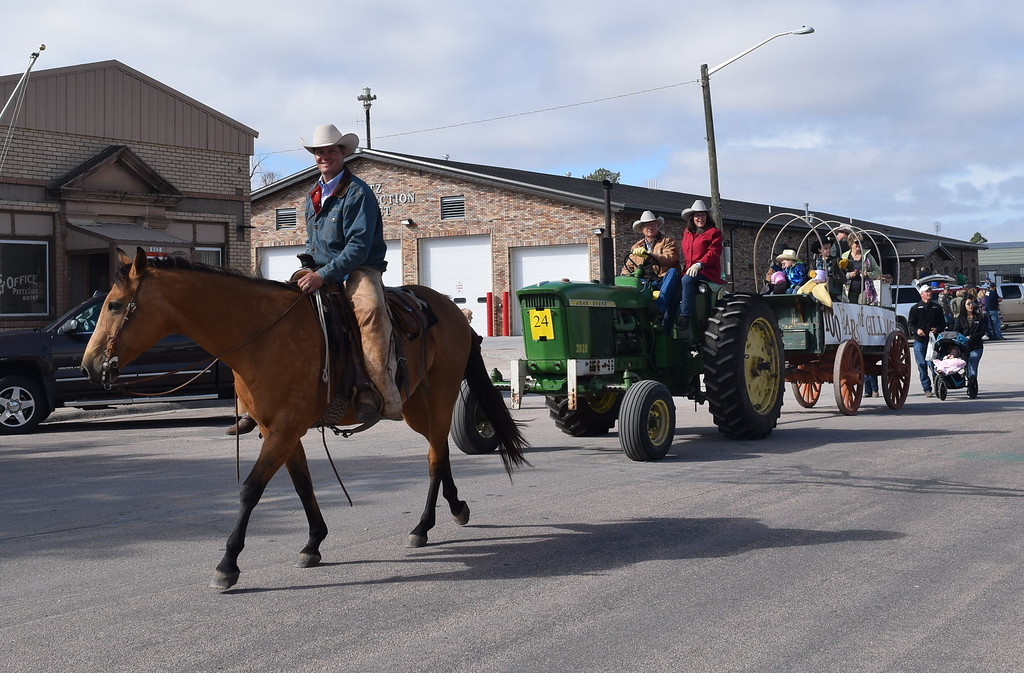 """. The Gillham farm also celebrated 100 years during the Peetz Sake Days \""""Still on the Hill\"""" Centennial Parade Saturday, Sept. 30, 2017."""