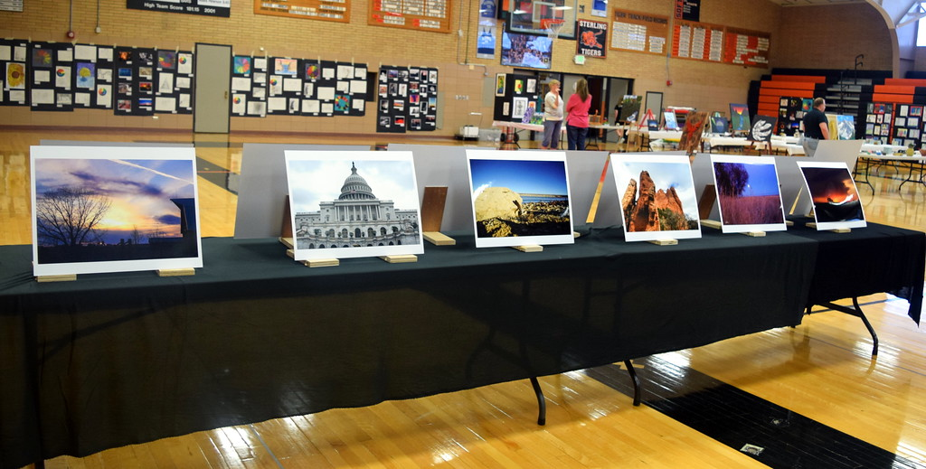 . Caliche School art at the RE-1 Valley District Art Expo Saturday, April 6, 2019.
