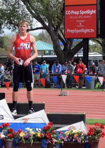 Haxtun's Braden Anderson places seventh in the 1,600 meter run