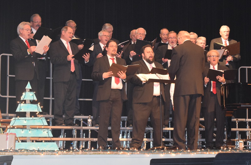 "Centennial State Chorus performs ""Birthday of a King,"" under the direction of Curt Kimball, at their ""Sing Noel at Christmas"" benefit concert Sunday, Dec. 4, 2016."